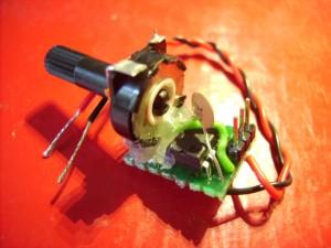 Prototype of 555 based servo controller