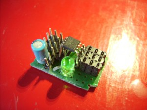 3 channel servo controller from attiny13