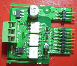 RS485 plugin board