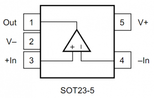 Pin-out of a expensive/precise op-amp