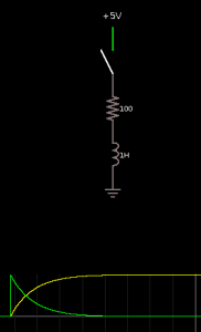 Series inductor circuit.