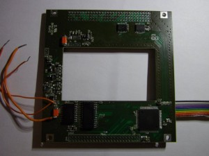Top side of EPS controller board
