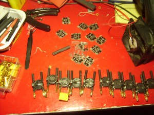 First ten Half Ohms assembled and another ten waiting