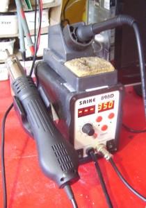 Saike 898D soldering station