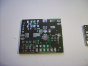 Factory made version of the second testboard