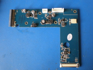 LCD connector board