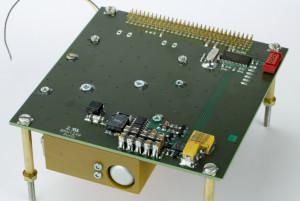 ESTCube-1 satellite piezoelectric motor driver