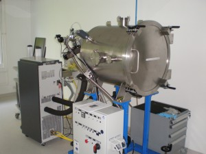 Big (220L) thermal vacuum chamber (-40 to +250) °C