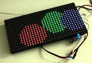 Cheap HUB75 RGB matrix working