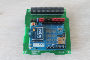 Communication system with Arduino mount