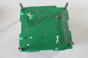 Underside of ADCS board