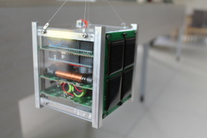 Programmable assembled satellite model