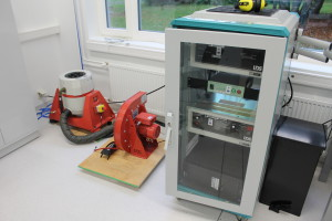 Vibration bench  and the amplifier