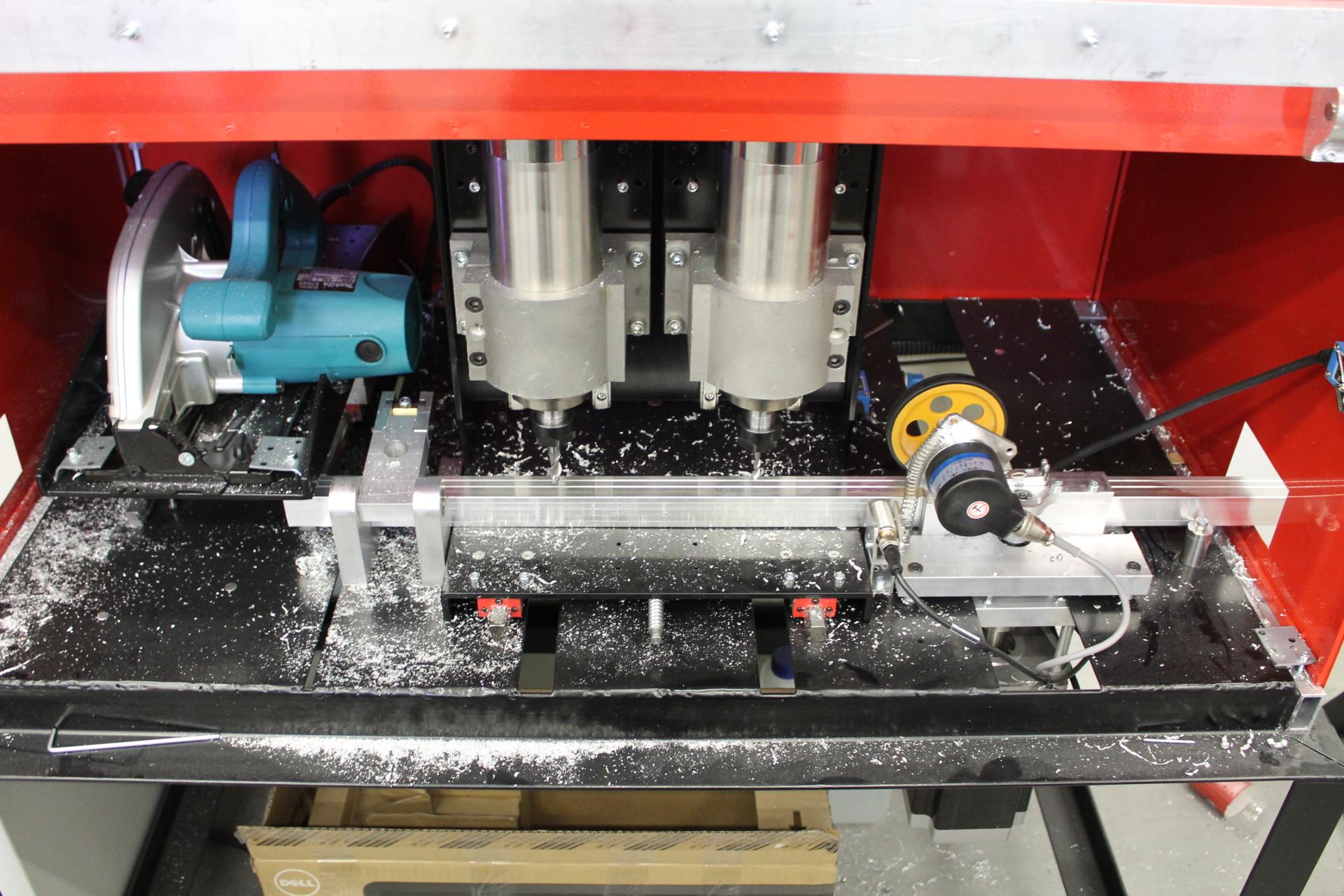 rail ting machine