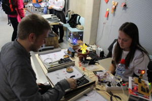Led thingie soldering workshop