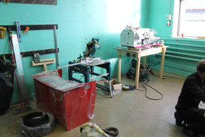The case of the machine lying in EDM workshop
